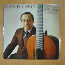MANUEL CANO - MOTIVOS ANDALUCES / SEMBLANZAS FLAMENCAS - LP
