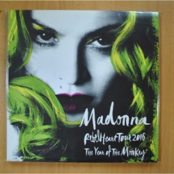 MADONNA - REBEL HEART TOUR 2016 / THE YEAR OF THE MONKEY - DOBLE PORTADA - 3 LP