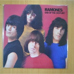 RAMONES - END OF THE CENTURY - LP