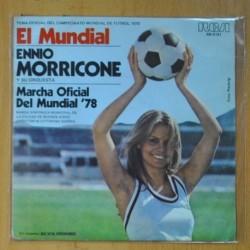 ENNIO MORRICONE - TEMA DEL MUNDIAL 78 - SINGLE