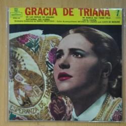 GRACIA DE TRIANA - DE LAS MINAS DE LINARES + 3 - EP
