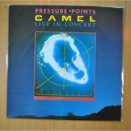 CAMEL - PRESSURE POINTS / LIVE IN CONCERT - LP