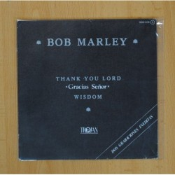 BOB MARLEY - THANK YOU LORD / WISDOM - SINGLE