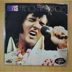ELVIS PRESLEY - ELVIS PARA LOS FANS ESPAÑOLES - PROMO - GATEFOLD - 2 LP