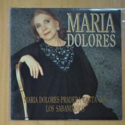 MARIA DOLORES PRADERA & LOS SABANDEÑOS - MARIA DOLORES - SINGLE