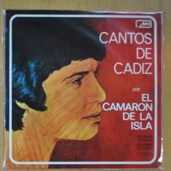 EL CAMARON DE ISLA - CANTOS DE CADIZ - SINGLE