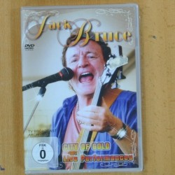 JACK BRUCE - CITY OF GOLD LIVE PERFORMANCES - DVD