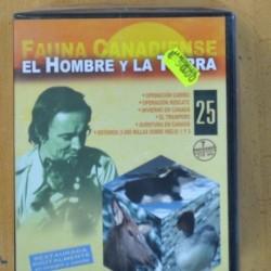 FELIX RODRIGUEZ DE LA FUENTE - EL HOMBRE Y LA TIERRA - 25 DVD