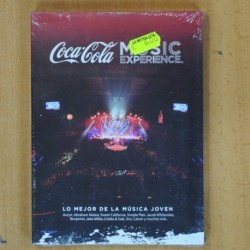 COCA COLA MUSIC EXPERIENCE - 2 CD / DVD