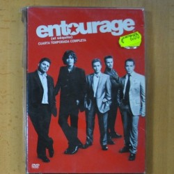 ENTOURAGE - CUARTA TEMPORADA - DVD
