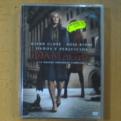 DAMAGES - TERCERA TEMPORADA - DVD
