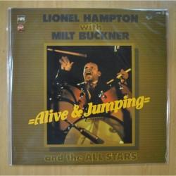 LIONEL HAMPTON WITH MILT BUCKNER - ALIVE & JUMPING - LP