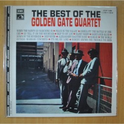 THE GOLDEN GATE QUARTET - THE BEST OF THE GOLDEN GATE QUARTET - LP