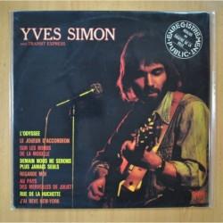 YVES SIMON AVEC TRANSIT EXPRESS - ENREGISTREMENT PUBLIC REALISE AU THEATRE DE LA VILLE - LP