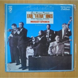 EARL FATHA HINES AND HIS ALL STARS FEATURING MUGGSY SPANIER - GENE NORMAN PRESENTS EARL FATHA HINES VOLUME 2 - LP