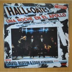 DARYL HALL & JOHN OATES WITH DAVID RUFFIN & EDDIE KENDRICK - UNA NOCHE EN EL APOLLO - MAXI