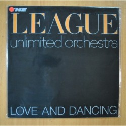THE LEAGUE UNLIMITED ORCHESTRA - LOVE AND DANCING - LP