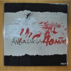 JOSE MENESE - ANDALUCIA 40 AÑOS - GATEFOLD - LP