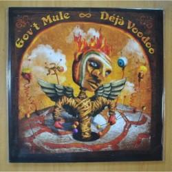 GOV T MULE - DEJA VOODOO - GATEFOLD - 2 LP