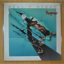 AZUL Y NEGRO - SUSPENSE - GATEFOLD - LP