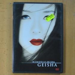 MEMORIAS DE UNA GEISHA - DVD