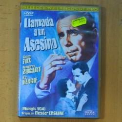 LLAMADA A UN ASESINO - DVD