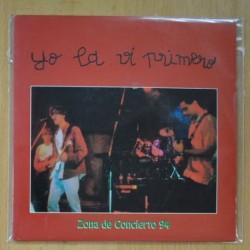 YO LA VI PRIMERO - ZONA DE CONCIERTO 94 - MI CHICA / UN DIA COMO HOY - SINGLE