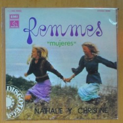 NATHALIE ET CHRISTINE CON LES VIBRATIONS - FEMMES PART 1 / PART 2 - SINGLE