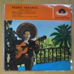 PEDRO INFANTE - CANCIONES POPULARES - EP