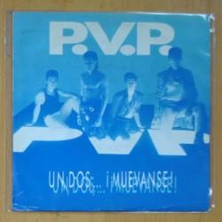 P.V.P. - UN, DOS, MUEVANSE! / OH FABRIZE ! - SINGLE