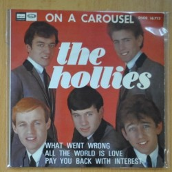 THE HOLLIES - ON A CAROUSEL + 3 - EP