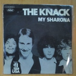 THE KNACK - MY SHARONA / LET ME OUT - SINGLE