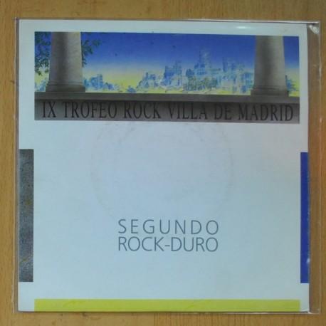 MARSHALL MONROE - IX VILLA DE MADRID - NO TE DETENGAS ( ES TENTACION ) / SOLO TU ( ME HACES SENTIR ) - SINGLE