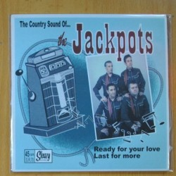 THE JACKPOTS - READY FOR YOUR LOVE / LAST FOR MORE - SINGLE