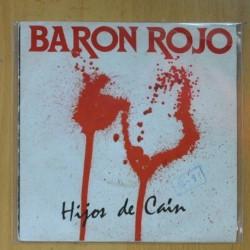 BARON ROJO - HIJOS DE CAIN / CASO PERDIDO - SINGLE