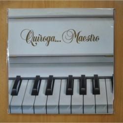 VARIOS - QUIROGA... MAESTRO - GATEFOLD - 2 LP
