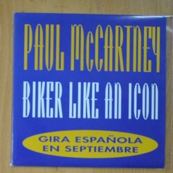 PAUL McCARNEY - BIKER LIKE A ICON - SINGLE
