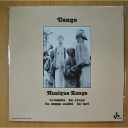 MUSIQUE KONGO - BA BEMBE BA-CONGO BA-CONGO-NSEKE BA-LARI - GATEFOLD - LP