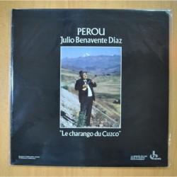 JULIO BENAVENTE DIAZ - PEROU LE CHARANGO DU CUZCO - LP
