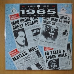 VARIOS - 25 YEARS OF ROCK & ROLL 1965 / 24 OF THE YEAR S GREATEST TRACKS - GATEFOLD - 2 LP