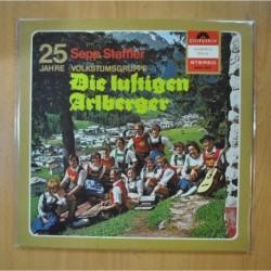 SEPP STAFFLER - DIE LUFTIGEN ARLBERGER - GATEFOLD - LP