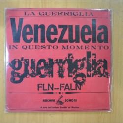VARIOS - VENEZUELA GUERRIGLIA - LP
