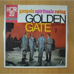 THE GOLDEN GATE QUARTET - GOSPELS SPIRITUALS SWING - LP