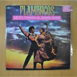 GRUPO FLAMENCO DE ANTONIO ARENAS - FLAMENCOS - LP
