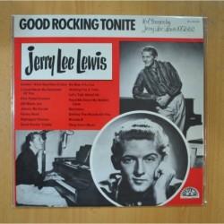 JERRY LEE LEWIS - GOOD ROCKING TONITE - LP
