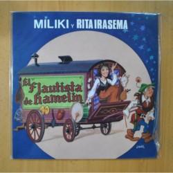 MILIKI Y RITA IRASEMA - EL FLAUTISTA DE HAMELIN - LP