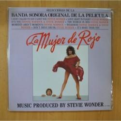 STEVIE WONDER - LA MUJER DE ROJO - BSO - GATEFOLD - LP