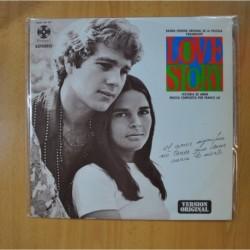 VARIOS - LOVE STORY - LP