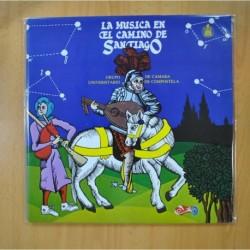 VARIOS - LA MUSICA EN EL CAMINO DE SANTIAGO - GATEFOLD - LP