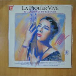 CONCHA PIQUER - LA PIQUER VIVE 26 CANCIONES DE LEYENDA - GATEFOLD - 2 LP